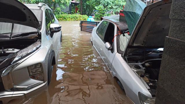 Banjir di Villa Bintaro Regency, Pondok Aren