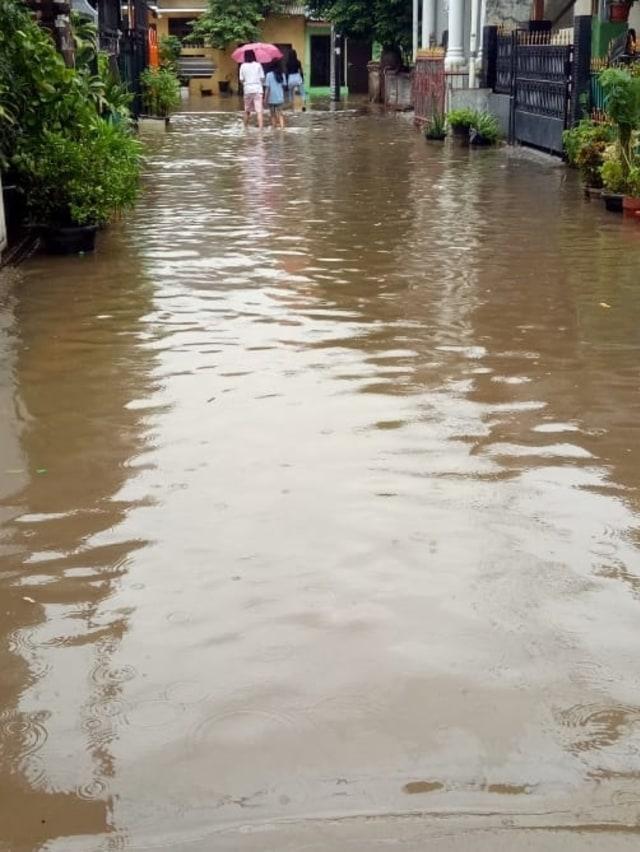 PTR, Banjir di Komplek Ciledug Indah