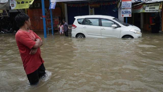 Banjir di Ciledug Indah