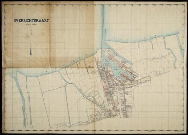 Kanal Banjir Barat diambil pada tahun 1930