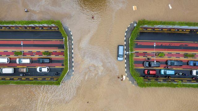 Banjir di Jakarta Pusat