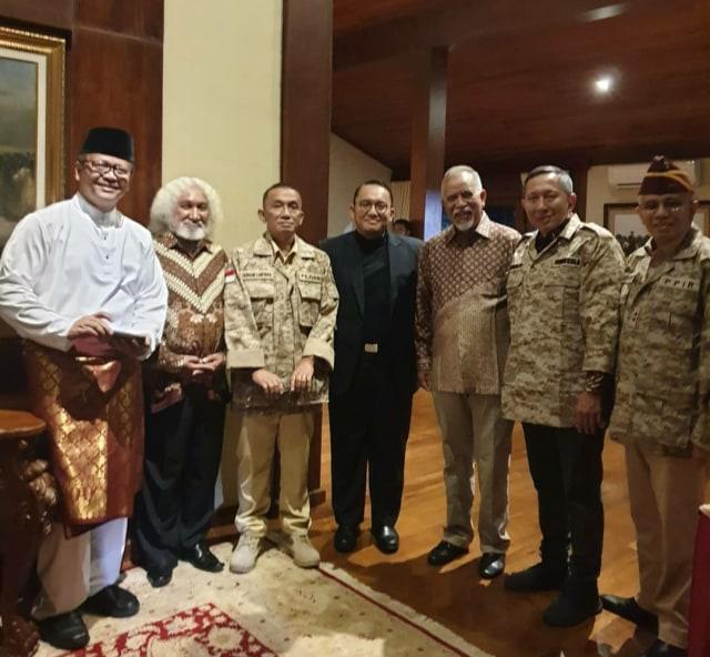 Veteran Operasi Seroja temui Prabowo