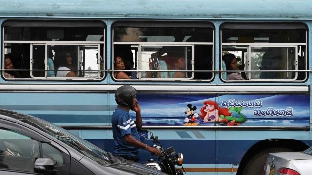 Bus di Sri Lanka