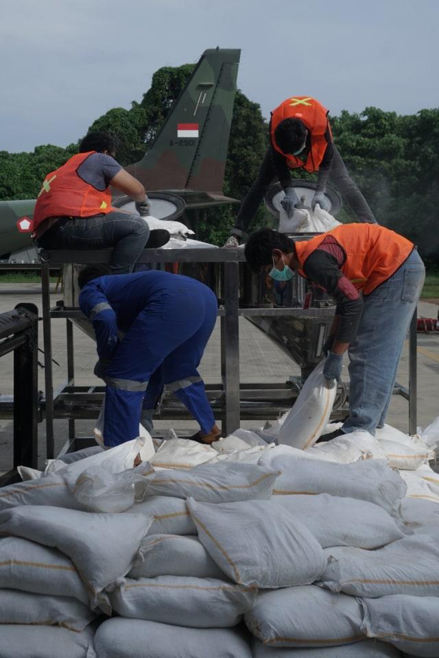 PTR, Persiapan Operasi TMC di Lanud Halim