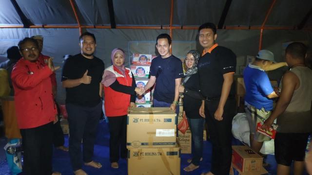 Bulog memberikan bantuan untuk korban banjir