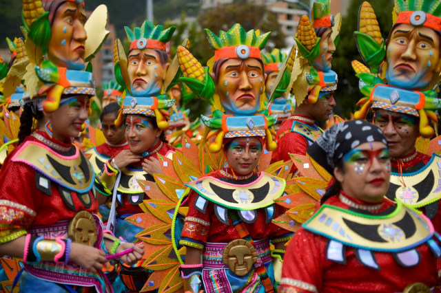 Karnaval Blacks and Whites, Kolombia