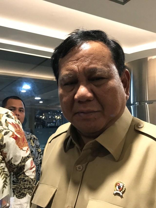 PTR, Prabowo di Kantor Luhut Binsar Pandjaitan