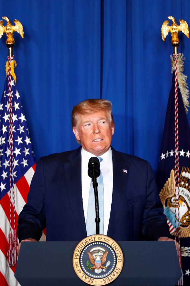 Presiden Amerika Serikat, Donald Trump, POTRAIT