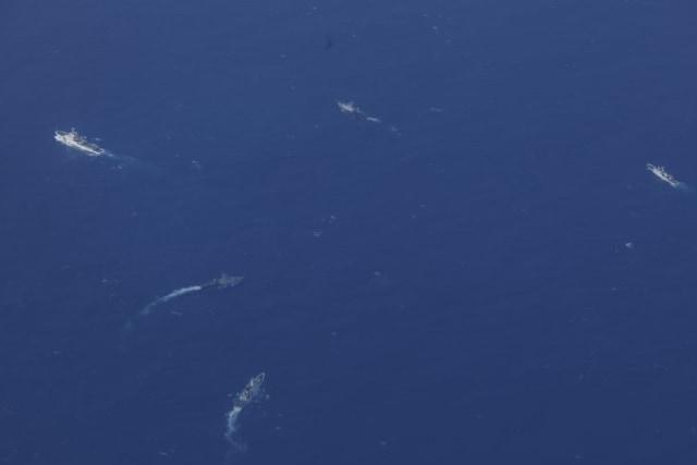Patroli udara di perairan Natuna