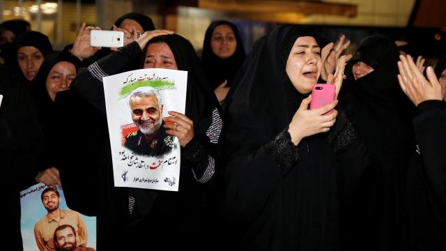 Pemakaman Jenderal Qassem Soleimani