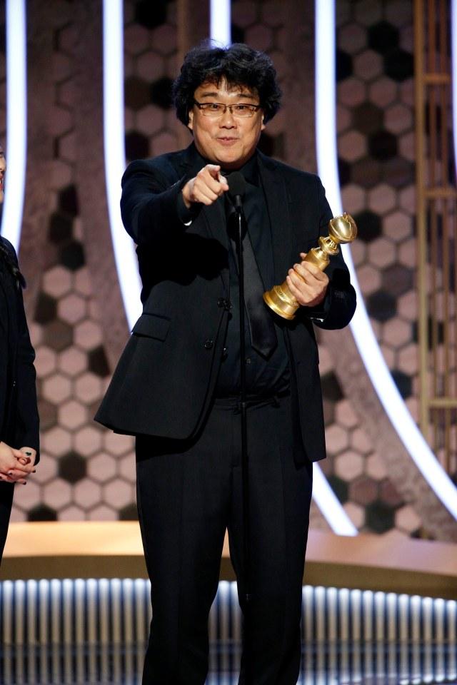 Golden Globe, 'Parasite' , POTRAIT