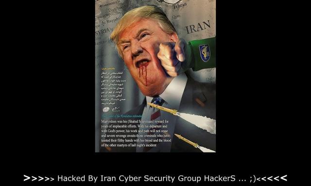 Situs pemerintah Amerika Serikat yang diretas hacker Iran