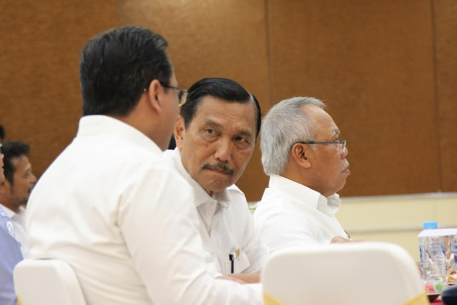 Menteri Kemaritiman Luhut Binsar P