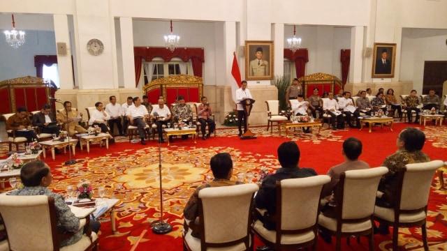 jokowi, Sidang Kabinet Paripurna Penetapan RPJMN 2020-2024
