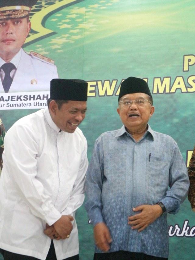 PTR, Jusuf Kalla, Pelantikan DMI Sumut