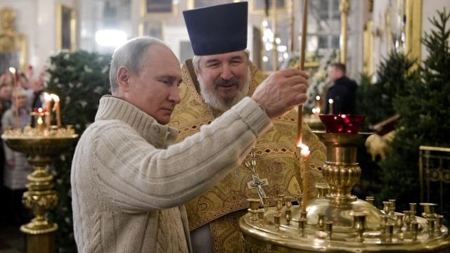 Natal Ortodoks di Russia