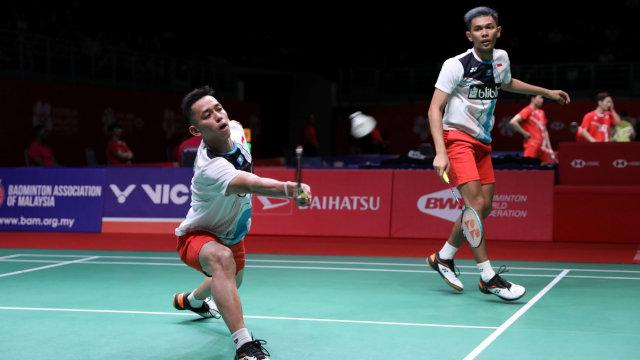 Komentar Fajar/Rian Usai Dibekuk Juniornya di 16 Besar Thailand Open (2004)