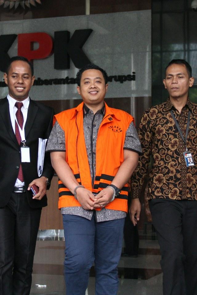 PTR, Miftahul Ulum, pemeriksaan di Gedung KPK, Menpora