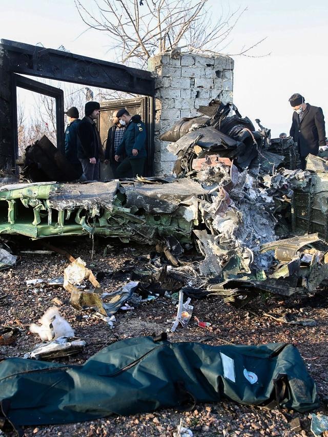 PTR, Ukraine International Airlines jatuh, Iran