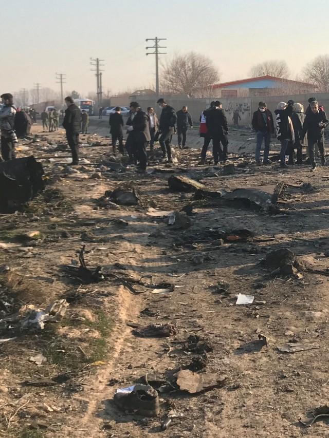 Pesawat jatuh di Iran, POTRAIT