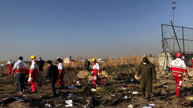 AS, Kanada, dan Prancis Bantu Iran Selidiki Jatuhnya Pesawat Ukraina (10628)