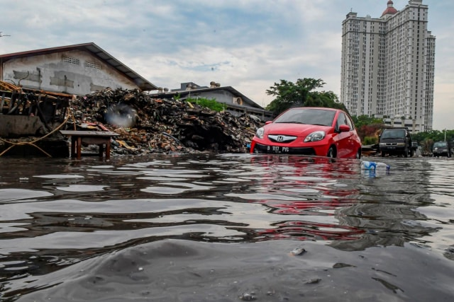 Dilema Mobil Korban Banjir (68958)