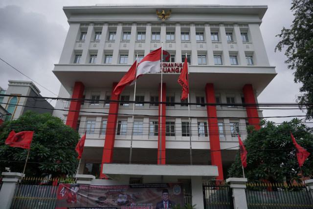 Suasana Gedung Kantor DPP PDIP