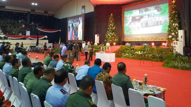 Perayaan Nata dan Tahun Baru TNI