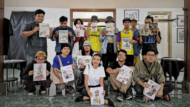 Kolektif Anak Muda Gelar Seni Multi Disiplin Pertama di Tulungagung (220608)