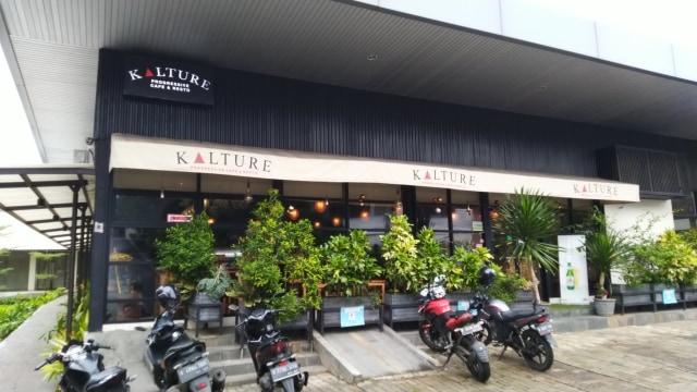 Kalture Progressif Cafe and Resto di Jalan Paradiso