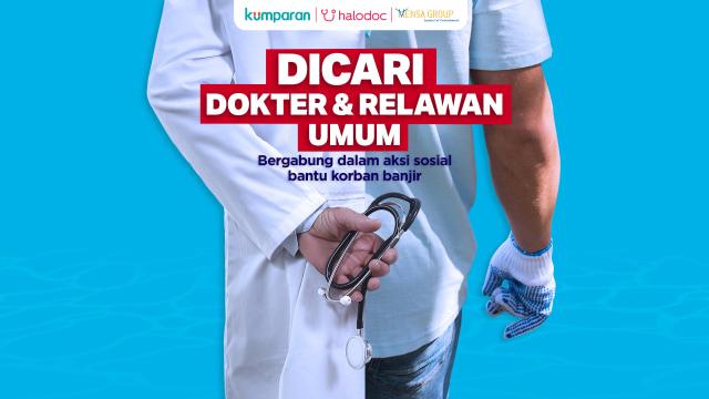 Poster relawan kumparan
