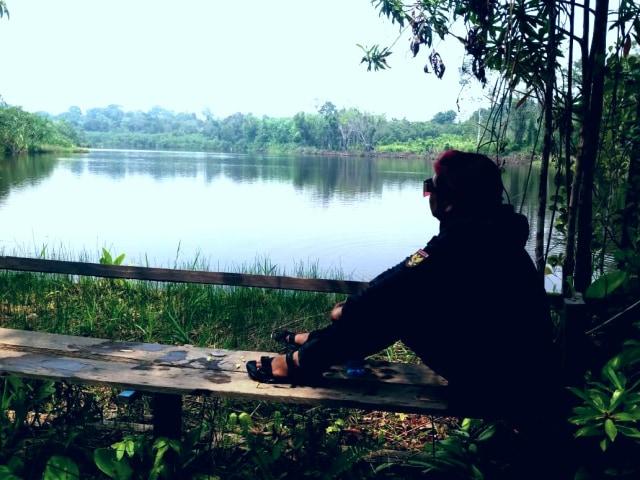 Melihat 'Pulau Begansar' di Kalbar, Pulau yang Bisa Bergerak Sendiri (36470)