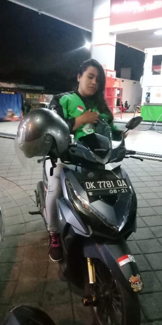 PTR, Supir Gojek korban tabrak lari, Kuta, Bali