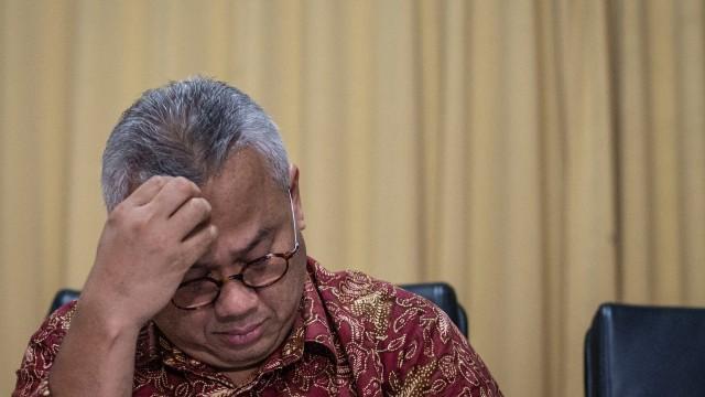 LIPSUS SUAP KPU, Ketua KPU Arief Budiman