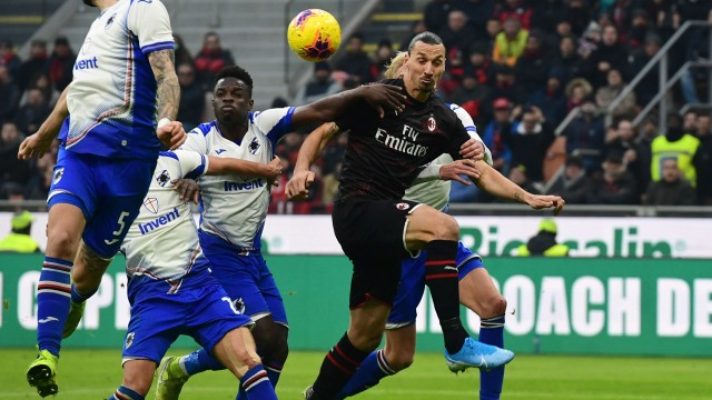 Live Streaming Sampdoria vs AC Milan di Liga Italia (79350)