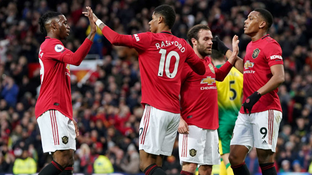 Manchester United vs Nowich City