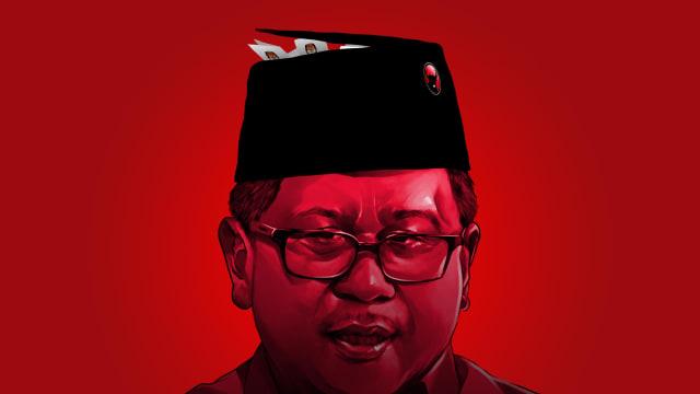 LIPSUS SUAP KPU, Hasto Kristiyanto, Coverstory