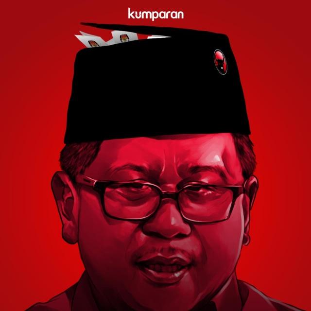 LIPSUS SUAP KPU, Hasto Kristiyanto, Krispi