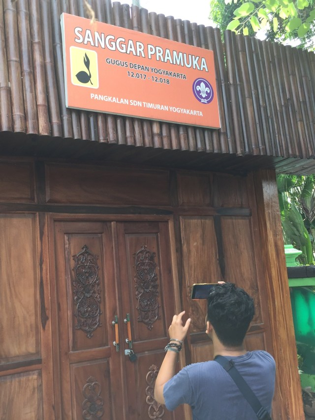 PTR, Suasana di SD Negeri Timuran Kota Yogyakarta