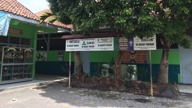 Suasana di SD Negeri Timuran Kota Yogyakarta