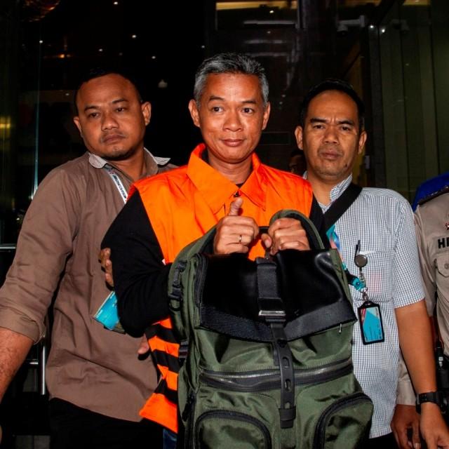 SQR, LIPSUS SUAP KPU, Komisioner KPU Wahyu Setiawan