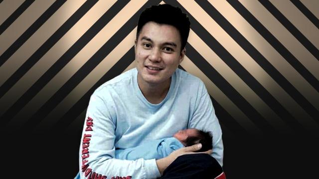 Baim Wong dan putranya, Kiano Tiger Wong