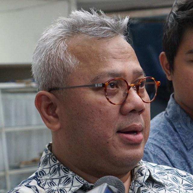Ketua KPU, Arief Budiman (COVER LIPSUS/SQUARE)