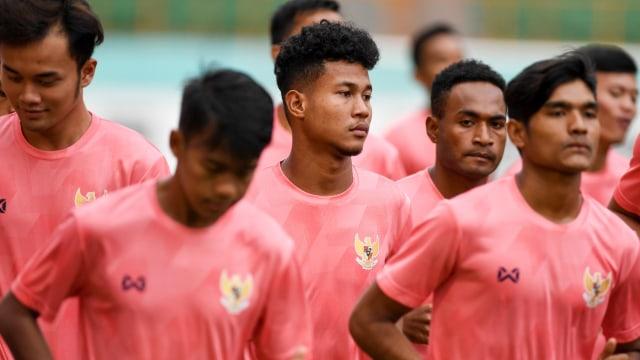 Seleksi pemain timnas Indonesia U-19