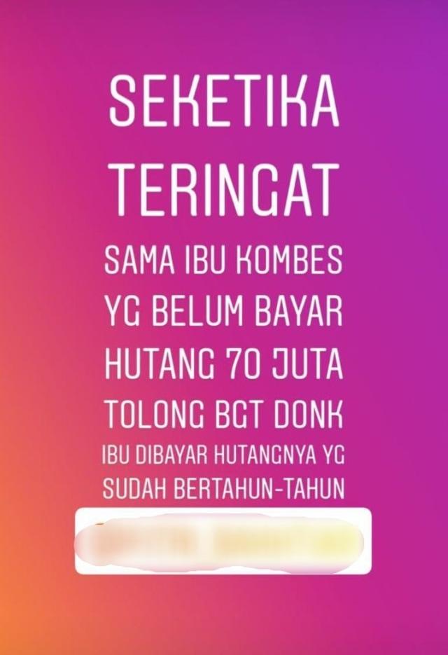 Waket PDIP Medan Nilai Hakim Berat Sebelah soal Vonis Tagih Utang di Instastory (2)
