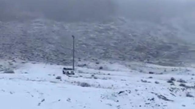 Salju di tabuk, Arab Saudi
