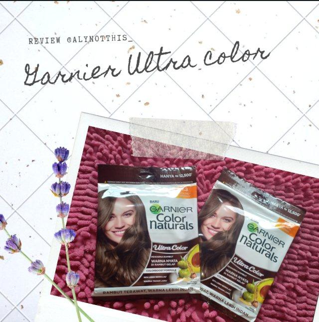 Review Garnier Ultra Color sachet, Berhasilkah di rambut hitam? (568243)