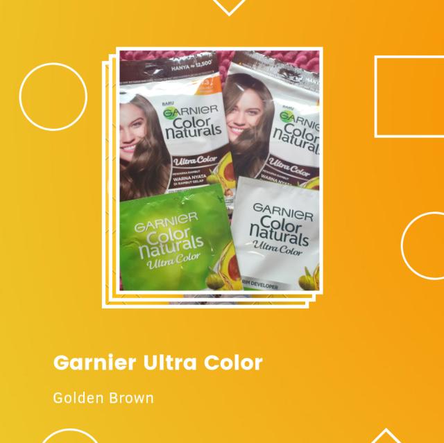 Review Garnier Ultra Color sachet, Berhasilkah di rambut hitam? (568244)
