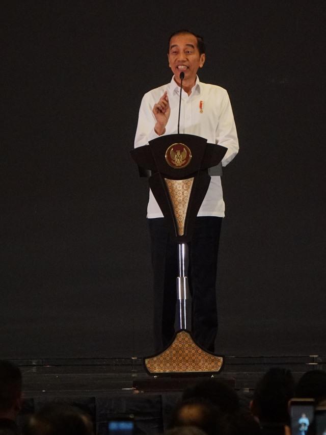 PTR, Jokowi, Pelantikan Pengurus HIPMI