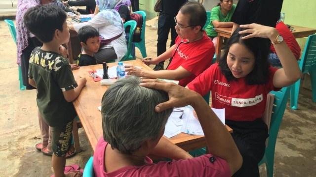 kumparan dan Halodoc, Posko Kesehatan di Bekasi